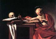 Caravaggio St Jerome oil painting picture wholesale