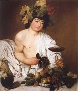 Caravaggio Bacchus oil painting reproduction