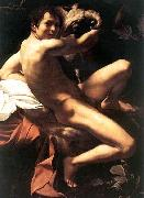 Caravaggio St. John the Baptist oil painting picture wholesale