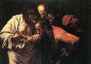 Caravaggio The Incredulity of Saint Thomas oil painting picture wholesale