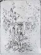 Carl Larsson Esbjorn with his Very Own Apple Tree oil painting picture wholesale