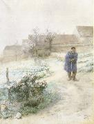 Carl Larsson November oil painting picture wholesale