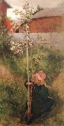 Carl Larsson Apple Blossoms oil painting picture wholesale