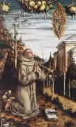 Carlo Crivelli The Vision of the Blessed Gabriele Ferretti oil painting picture wholesale