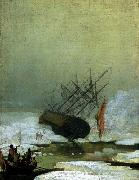 Caspar David Friedrich Wreck in the Sea of Ice oil painting picture wholesale