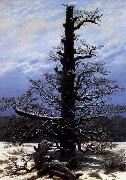 Caspar David Friedrich The Oaktree in the Snow oil painting picture wholesale