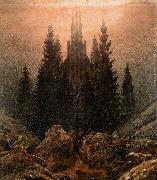 Caspar David Friedrich The Cross in the Mountains oil painting picture wholesale
