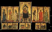 DADDI, Bernardo Polyptych of S. Pancrazio oil painting picture wholesale
