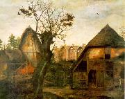 DALEM, Cornelis van Landscape with Farm oil painting artist