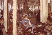 Edgar Degas Women on the terrace oil painting picture wholesale