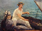 Edouard Manet Boating oil painting picture wholesale