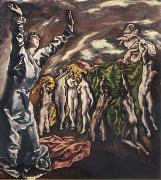 El Greco The Vision of St.John oil painting picture wholesale