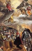 El Greco THe Adoration of the Name of Jesus oil painting picture wholesale