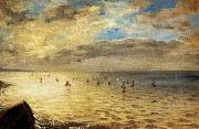 Eugene Delacroix The Sea from the Heights of Dieppe oil painting picture wholesale