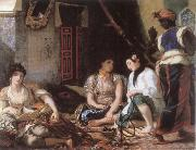 Eugene Delacroix Algerian Women in their Chamber oil painting picture wholesale
