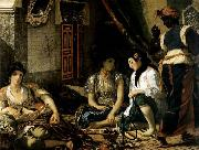 Eugene Delacroix The Women of Algiers oil painting picture wholesale