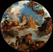 Eugene Delacroix Sketch for Peace Descends to Earth oil painting picture wholesale