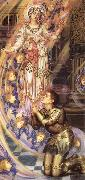 Evelyn De Morgan Our Senora of the Peace oil painting artist