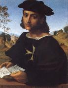 FRANCIABIGIO Portrait of a Kning of Rhodes oil painting artist