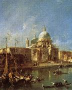 Francesco Guardi Santa Maria della Salute oil painting picture wholesale