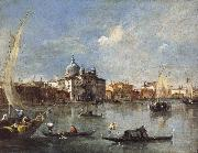 Francesco Guardi The Giudecca with the Zitelle oil painting picture wholesale
