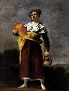 Francisco de goya y Lucientes Water Carrier oil painting artist