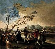 Francisco de goya y Lucientes Dance of the Majos at the Banks of Manzanares oil painting picture wholesale
