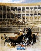 Francisco de goya y Lucientes Picador Caught by the Bull oil painting picture wholesale