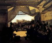 Franz Ludwig Catel Crown Prince Ludwig in the Spanish Wine Tavern in Rome oil painting picture wholesale