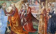 GHIRLANDAIO, Domenico Detail of Visitation oil painting picture wholesale