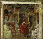 GIOTTO di Bondone Christ among the Doctors oil painting picture wholesale