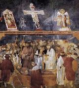 GIOTTO di Bondone Verification of the Stigmata oil painting picture wholesale