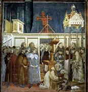 GIOTTO di Bondone Institution of the Crib at Greccio oil painting picture wholesale