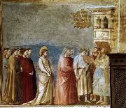GIOTTO di Bondone Wedding Procession oil painting picture wholesale