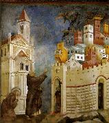 GIOTTO di Bondone Exorcism of the Demons at Arezzo oil painting picture wholesale