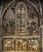 GIOTTO di Bondone Frescoes in the second bay of the nave oil painting picture wholesale