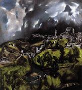 GRECO, El A View of Toledo oil painting picture wholesale
