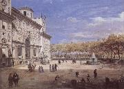 Gaspar Van Wittel The Villa Medici in Rome oil painting picture wholesale