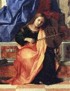 Gentile Bellini Detail of Pala di San Zaccaria oil painting picture wholesale