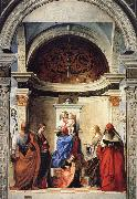 Gentile Bellini Pala di San Zaccaria oil painting picture wholesale