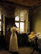 Georg Friedrich Kersting At the Mirror oil painting picture wholesale