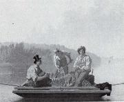 George Caleb Bingham Bootsleute auf dem Missouri oil painting picture wholesale