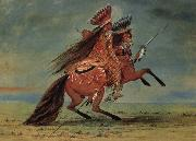 George Catlin Crow Chief oil painting picture wholesale