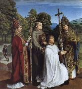 Gerard David Camon Bernardijn Salviati and Saints Martin,Bernardino and Donatian oil painting picture wholesale