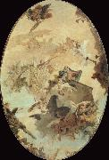 Giovanni Battista Tiepolo Miracle of the Holy House of Loreto oil painting picture wholesale