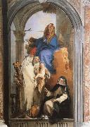 Giovanni Battista Tiepolo Pala delle Tre Sante oil painting picture wholesale