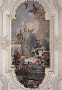 Giovanni Battista Tiepolo Donation of the Rosary oil painting picture wholesale