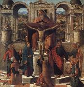Giovanni Mansueti Symbolic Representaton of the Crucifixion oil painting picture wholesale