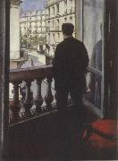 Gustave Caillebotte Young man at his window oil painting picture wholesale