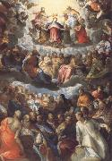 Hans Rottenhammer The Coronation of the Virgin oil painting picture wholesale